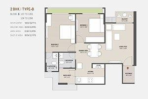 2/3 Bhk for sale in stella