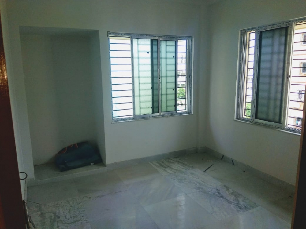 Semi furnished flat for sale @ New Garia