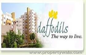 Avl 2 bhk flat for Sale daffodils in magarpatta city