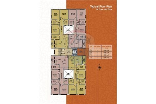 Semi furnished flat for sale @ Sultan Ahmed Road, Tollygunge