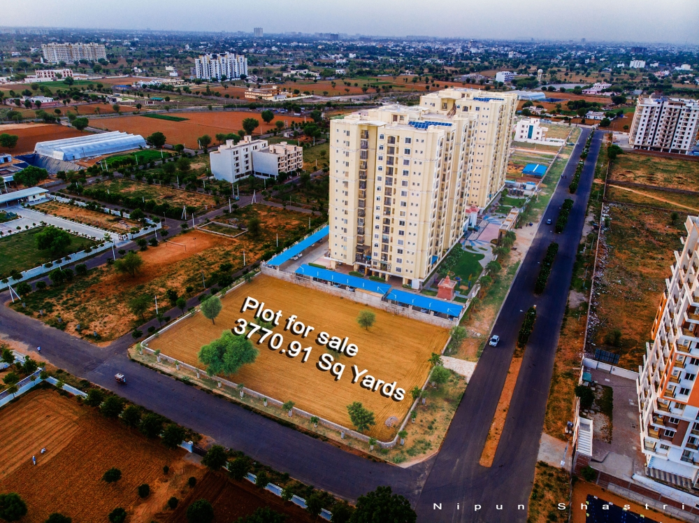An excellent 3770 square yards JDA approved land available for sale at prime location of Mansarovar Extension near muhana and patrakar colony!!
