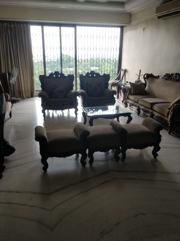 Marble Furnished Flat for sale @Satyam Tower, Alipore
