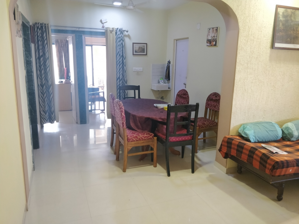 2 BHK flat for rent at Thaltej , S G highway