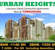 2 BHK Flat for Sale in Urban Heights, Tukkuguda, Hyderabad