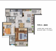 2 BHK Type 2 Flat for Sale in Signature Global Proxima 2, Gurgaon