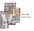2 BHK Type 3 Flat For Sale In Signature Global Proxima 2, Gurgaon