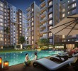 2 bhk flat with a study room in a well gated residential complex @ Madhyamgram Chowmatha.